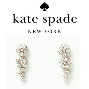 Kate Spade Flower Ear Pin Earrings